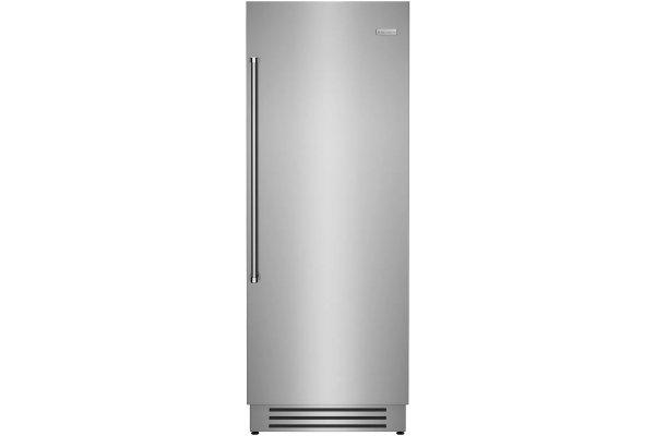 "Large image of BlueStar 30"" Stainless Steel Right Hinge Built-In Column Freezer - BIF30R"