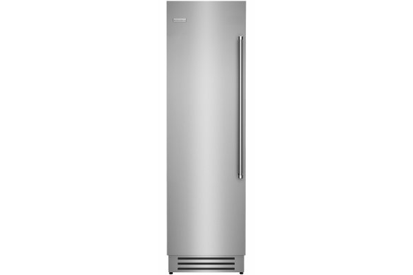 "Large image of BlueStar 24"" Stainless Steel Left Hinge Built-In Column Refrigerator - BIR24L"