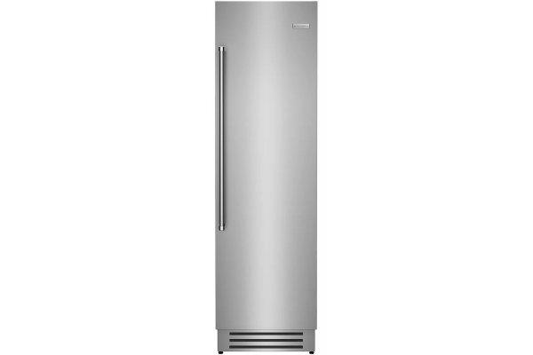 "Large image of BlueStar 24"" Stainless Steel Right Hinge Built-In Column Refrigerator - BIR24R"