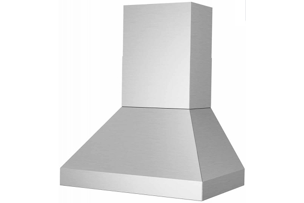 """Large image of Bluestar 30"""" Stainless Steel Pyramid Style Wall Hood - PY030ML"""