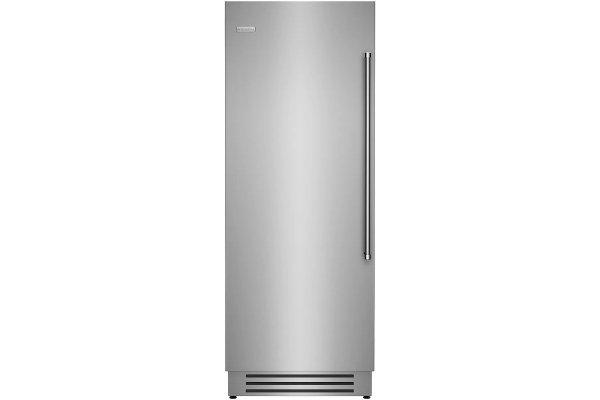 "Large image of BlueStar 30"" Stainless Steel Left Hinge Built-In Column Refrigerator - BIR30L"