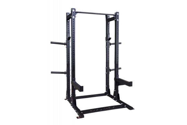 Large image of Body-Solid Commercial Extended Half Rack - SPR500BACK