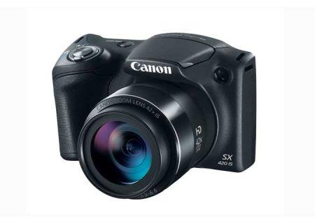 Canon PowerShot SX420 IS Black Digital Camera - 1068C001