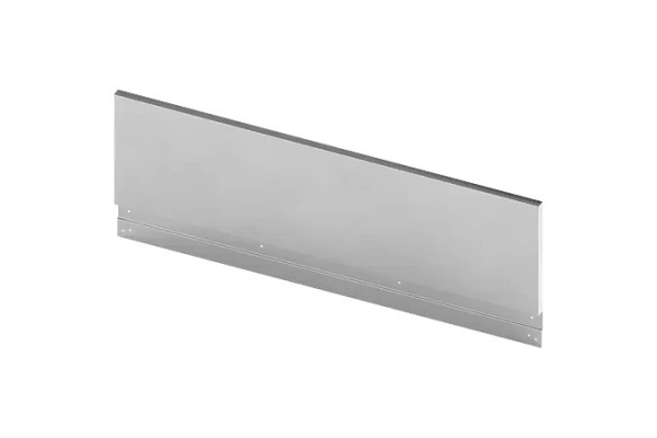 """Large image of Bosch 9"""" Stainless Steel Low Backguard For 36"""" Gas Rangetop - HEZ7YZ36UC"""