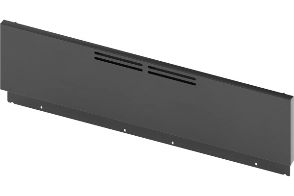 """Large image of Bosch 9"""" Black Stainless Steel Low Backguard For 30"""" Industrial Style Range - HEZ8YZ30UC"""