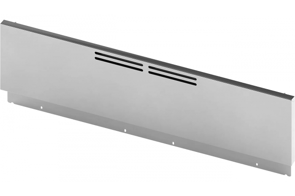 """Large image of Bosch 9"""" Stainless Steel Low Backguard For 30"""" Industrial Style Range - HEZ9YZ30UC"""