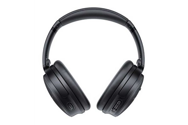 Large image of Bose Triple Black QuietComfort 45 Wireless Noise Cancelling Headphones - 866724-0100