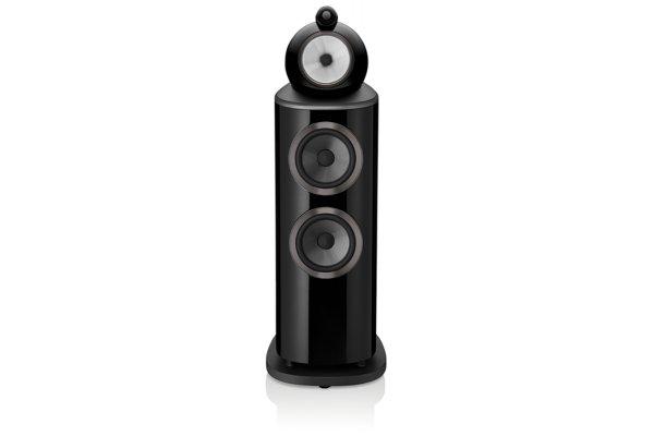 Large image of Bowers & Wilkins 800 Series Diamond 802 D4 Gloss Black 3-Way Floorstanding Speaker (Each) - FP41904