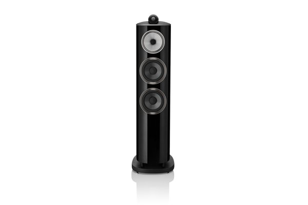 Large image of Bowers & Wilkins 800 Series Diamond 804 D4 Gloss Black 3-Way Floorstanding Speaker (Each) - FP41920