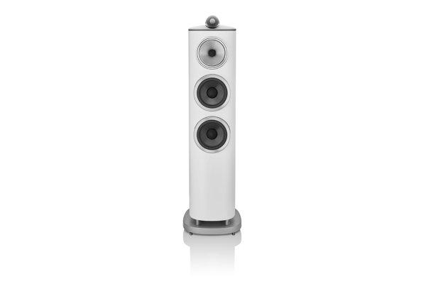 Large image of Bowers & Wilkins 800 Series Diamond 804 D4 White 3-Way Floorstanding Speaker (Each) - FP42137