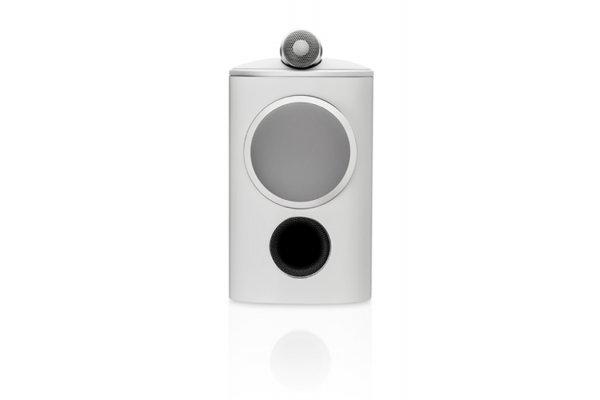 Large image of Bowers & Wilkins 800 Series Diamond 805 D4 White 2-Way Bookshelf Speaker (Each) - FP42153