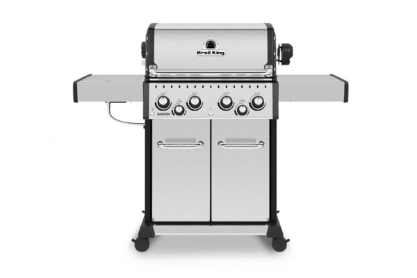 Large image of Broil King S 490 PRO IR Stainless Steel Natural Gas Grill - 875947