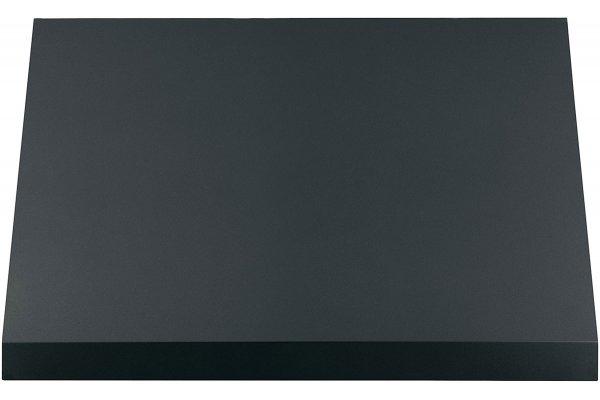 """Large image of Cafe 30"""" Matte Black Commercial Range Hood - CVW93043PDS"""