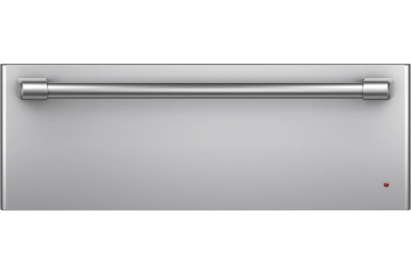 """Large image of Cafe 30"""" Stainless Steel With Brushed Stainless Warming Drawer - CTW900P2PS1"""