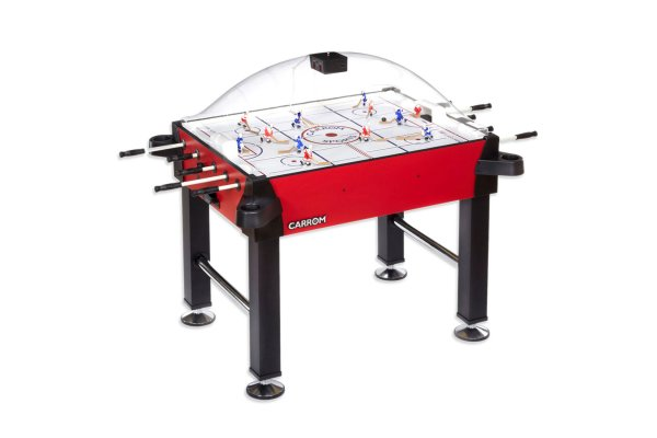 Large image of Carrom Signature Stick Red Hockey Game Table - 42500