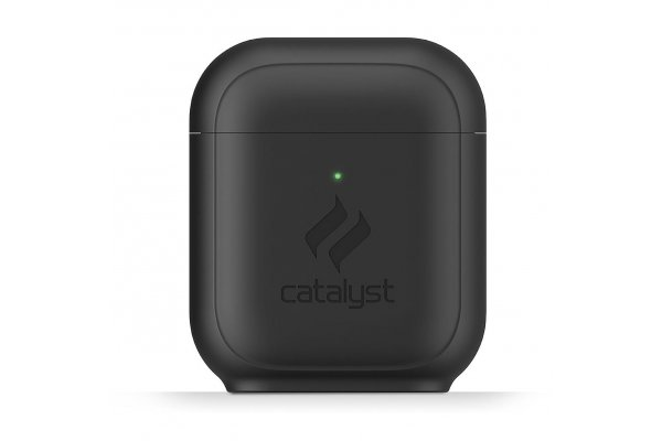 Large image of Catalyst Stealth Black Standing Case For AirPods - CATAPDSTDBLK