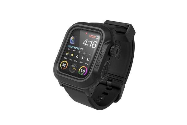Large image of Catalyst Stealth Black Waterproof Case For 40mm Apple Watch Series 4/5/6 & SE - CAT40WAT4BLK