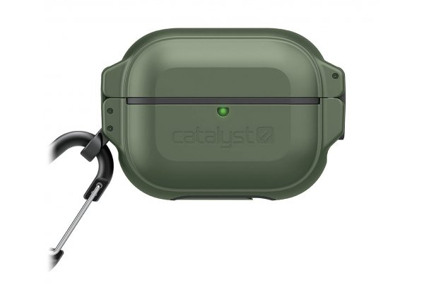 Large image of Catalyst Army Green & Black Total Protection Case For AirPods Pro - CAT100APDPROGRN