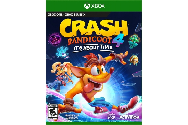 Large image of Microsoft Xbox One Crash Bandicoot 4: It's About Time Video Game - 047875785502