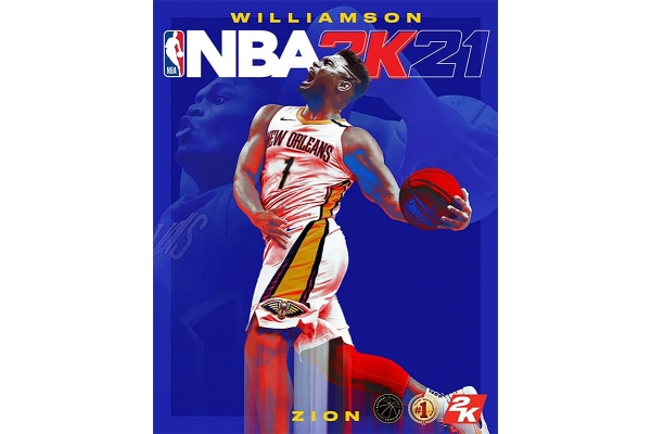 Large image of Sony PlayStation 5 NBA 2K21 Video Game - 710425577130