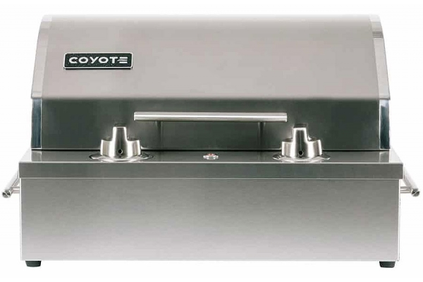 Large image of Coyote Stainless Steel Portable Electric Grill - C1EL120SM