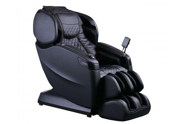 Large image of Cozzia Qi SE Black & Pearl Black Reclining Massage Chair - CZ-710V-2929