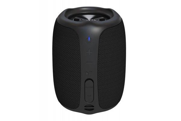 Large image of Creative Labs MUVO Play Black Waterproof Portable Bluetooth Speakers - 51MF8365AA000
