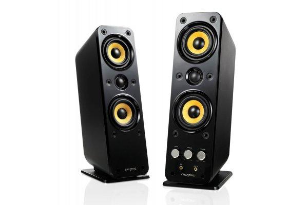Large image of Creative Labs GigaWorks T40 Series II 2.0 High-End Speakers (Pair) - 51MF1615AA002