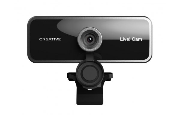 Large image of Creative Labs Live! 1080P Wide-Angle Webcam with Dual Built-In Mic - 73VF086000000
