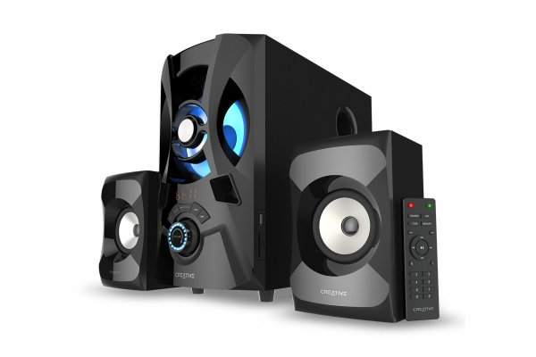 Large image of Creative Labs SBS E2900 2.1 Bluetooth Speaker System with Subwoofer - 51MF0490AA002
