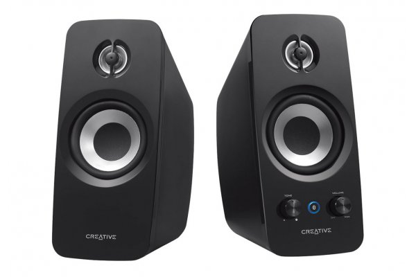 Large image of Creative Labs T15 2.0 Wireless Bluetooth Speakers (Pair) - 51MF1670AA003