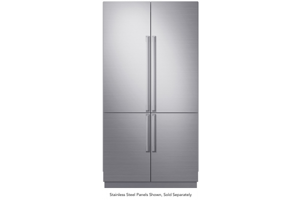 "Large image of Dacor Contemporary 42"" Panel Ready Built-In 4-Door French Door Refrigerator - DRF425300AP/DA"