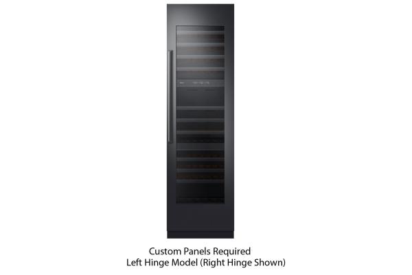 "Large image of Dacor Contemporary 24"" Panel-Ready Left-Hinge Wine Cellar - DRW24980LAP/DA"