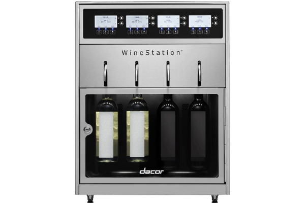 Large image of Dacor Heritage Stainless Steel WineStation - DYWS4