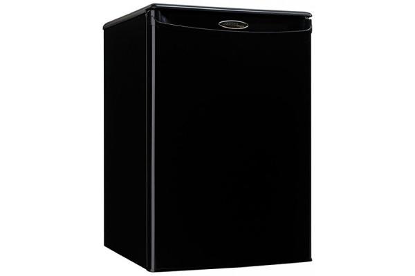 Large image of Danby Designer 2.6 Cu. Ft. Black Compact Refrigerator - DAR026A1BDD