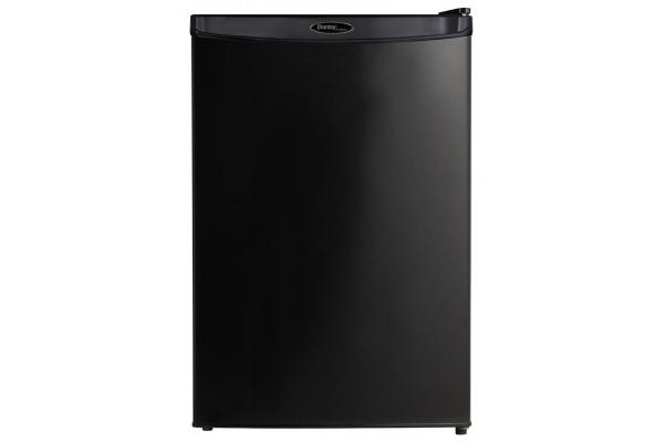 Large image of Danby Designer 4.4 Cu. Ft. Black Compact Refrigerator - DAR044A4BDD