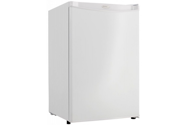 Large image of Danby Designer 4.4 Cu. Ft. White Compact Refrigerator - DAR044A4WDD