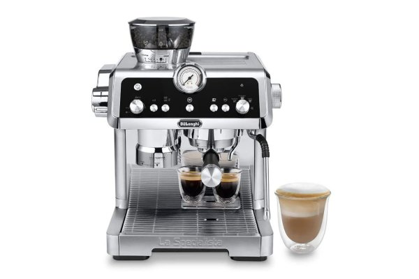 Large image of Delonghi La Specialista Prestigio Espresso Machine with Smart Tamping Station & Dual Heating System - EC9355M