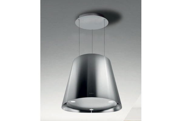 """Large image of Elica Easy 20"""" Stainless Steel Island Mount Hood - EES320SS"""