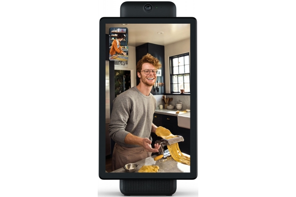 """Large image of Facebook Portal+ 15.6"""" Black Display With Built-In Alexa - 899-00048-02"""