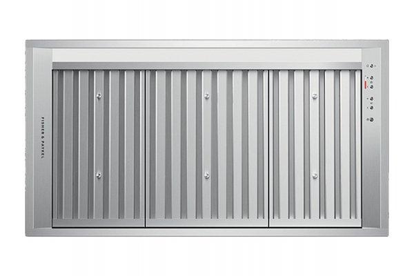 "Large image of Fisher & Paykel 36"" Stainless Steel Insert Range Hood - HPB3619-12 N"