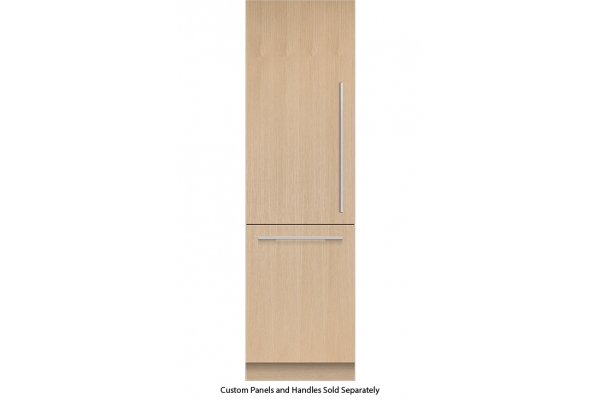 """Large image of Fisher & Paykel Series 9 24"""" Panel Ready Left-Hinge Built-In Bottom Freezer Refrigerator, Ice & Water - RS2484WLU1"""