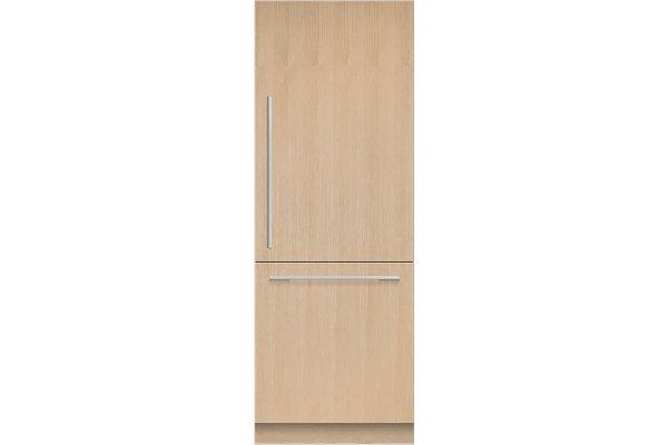 "Large image of Fisher & Paykel Series 9 30"" Custom Panel Right-Hinge Refrigerator Freezer, Ice & Water - RS3084WRU1"