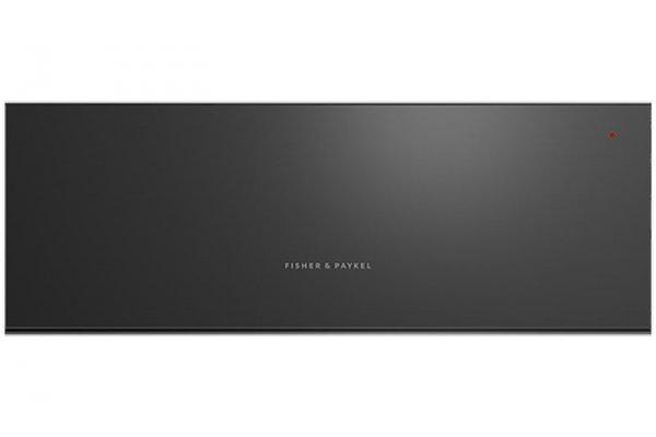 """Large image of Fisher & Paykel Series 9 30"""" Black Warming Drawer - WB30SDEB1"""