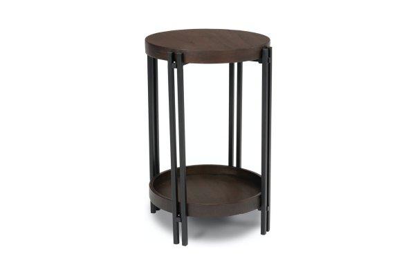 Large image of Flexsteel Prairie Chairside Table - W1011-07