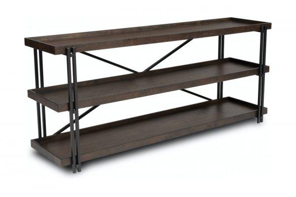 Large image of Flexsteel Prairie Sofa Table - W1011-04