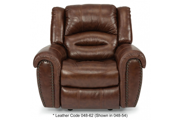 Large image of Flexsteel Town Barolo Leather Recliner - 1010-50-048-62
