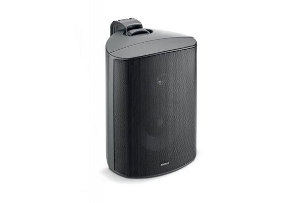 Large image of Focal 100 OD6 Black High-Fidelity Outdoor Loudspeaker (Each) - F100OD6-BK