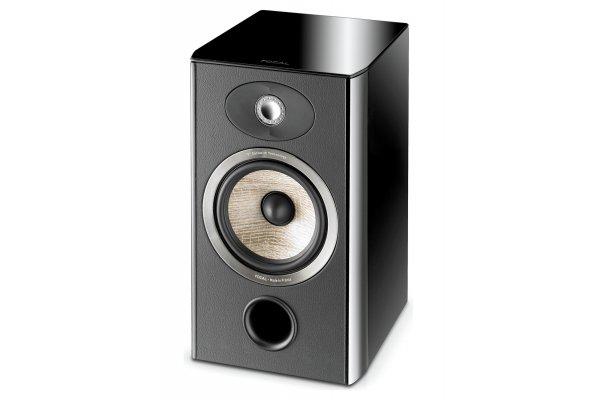 Large image of Focal Aria 906 Black High Gloss 2-Way Bookshelf Speaker (Pair) - JMLARIA906BPL