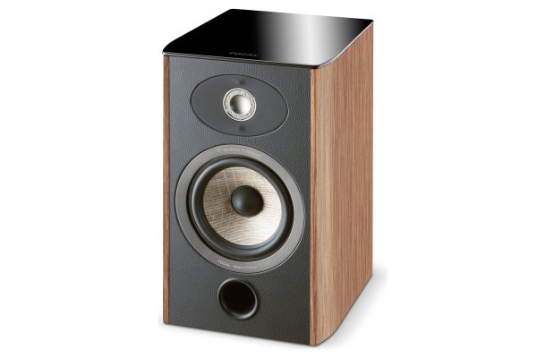 Large image of Focal Aria 906 Prime Walnut 2-Way Bookshelf Speaker (Each) - JMLARIA906PRWA